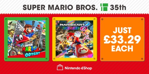 Score 33% off two top Mario titles!