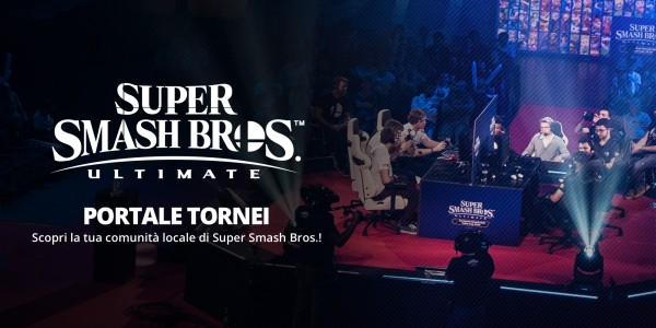 Portale tornei Super Smash Bros. Ultimate