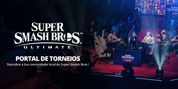 Portal de torneios de Super Smash Bros. Ultimate