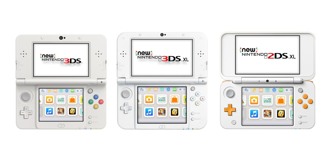 New Nintendo 3DS family systems | Support | Nintendo