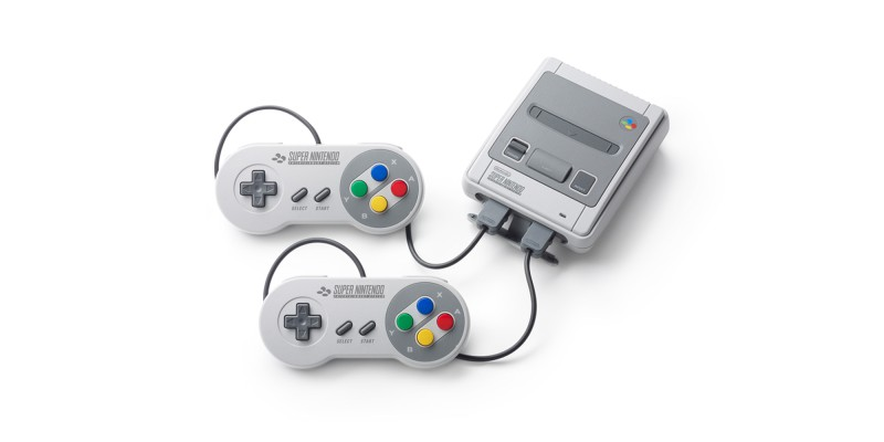 Поддержка для Nintendo Classic Mini: Super Nintendo Entertainment System