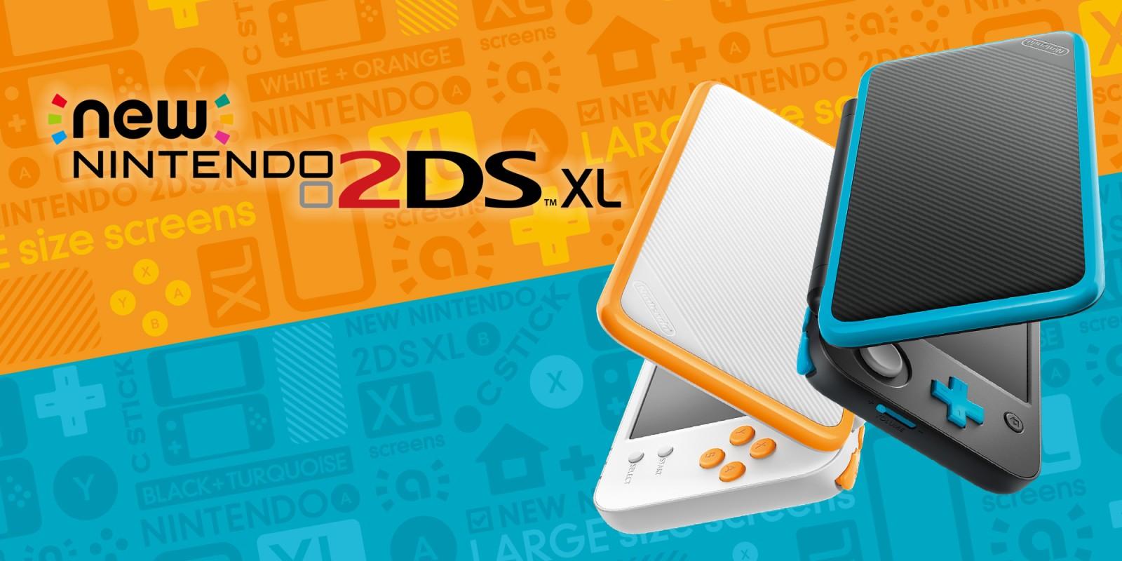 New Nintendo 2ds Xl Nintendo 3ds Family Nintendo