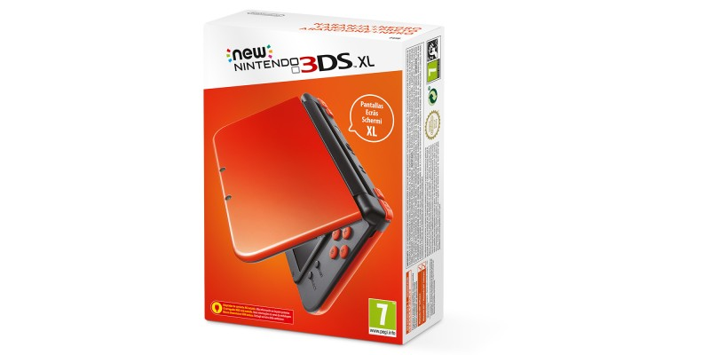 New Nintendo 3DS XL : Orange + Noir