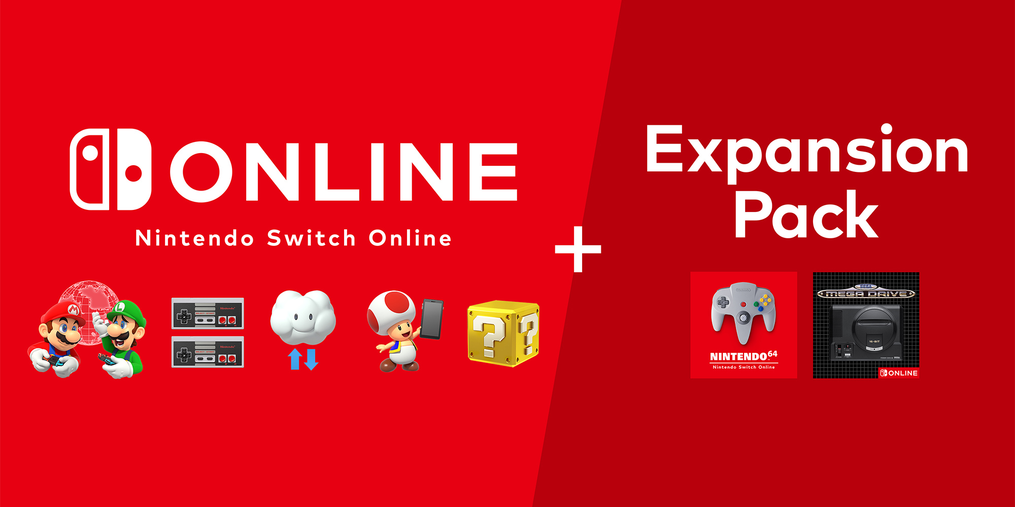 Introducing Nintendo Switch Online + Expansion Pack
