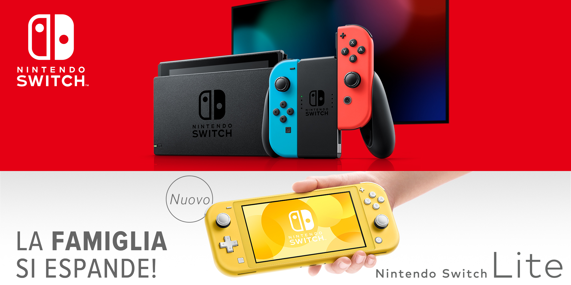 Preparati all'arrivo di Nintendo Switch Lite!