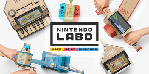 Nintendo Labo combines fun interactive make, play and discover experiences with Nintendo Switch