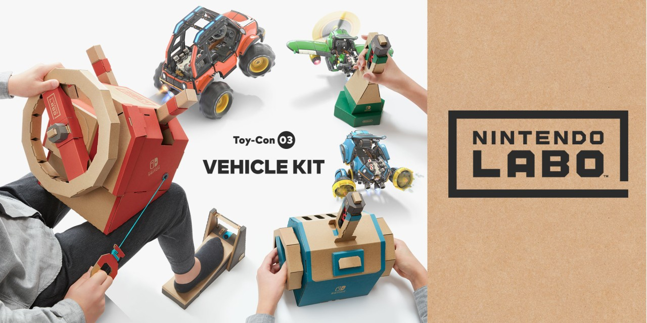 Vehicle Tracking Device >> Drive, dive and fly with the new Nintendo Labo: Vehicle Kit for Nintendo Switch   News   Nintendo
