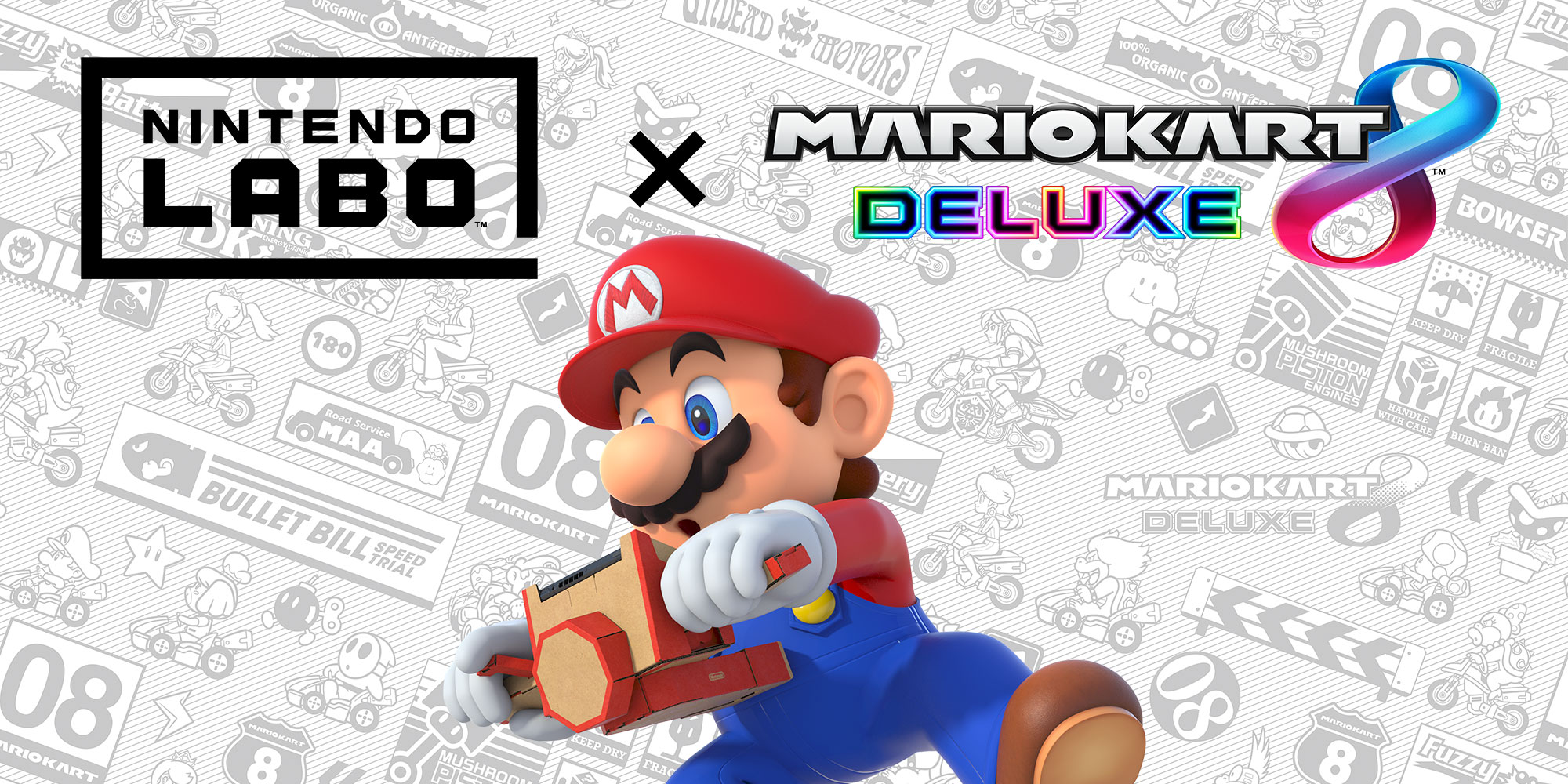 Discover a new way to play Mario Kart 8 Deluxe with Nintendo Labo!