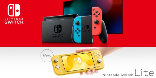 Nintendo introduces Nintendo Switch Lite, a device dedicated to handheld game play