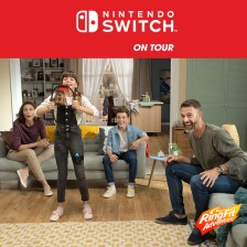 Kom langs tijdens Nintendo Switch ON TOUR! - nov./jan. 2020