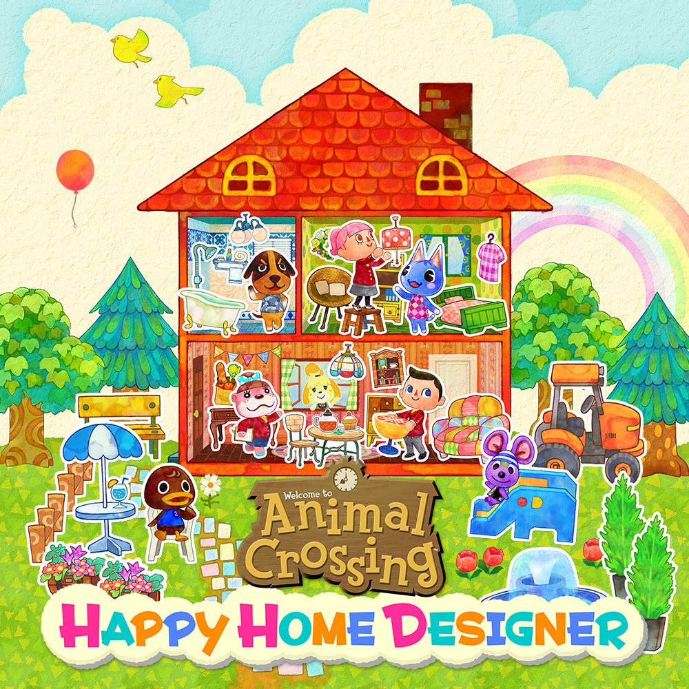 Nintendo 3ds familie nintendo for 7 11 happy home designer