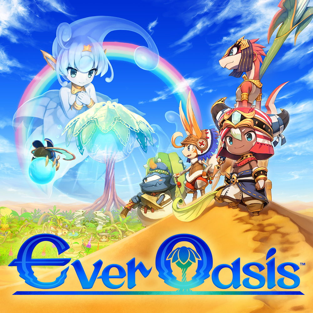 The world of Ever Oasis – part 1