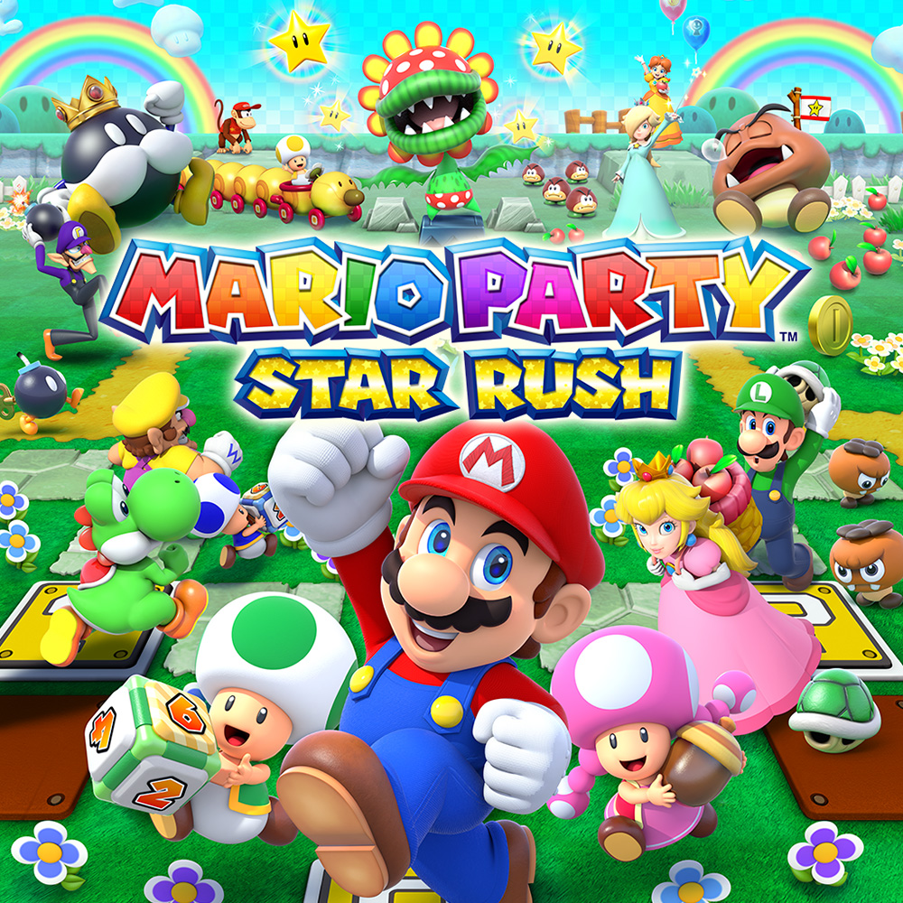 Nintendo 3ds Mario Games : Mario party star rush nintendo ds games