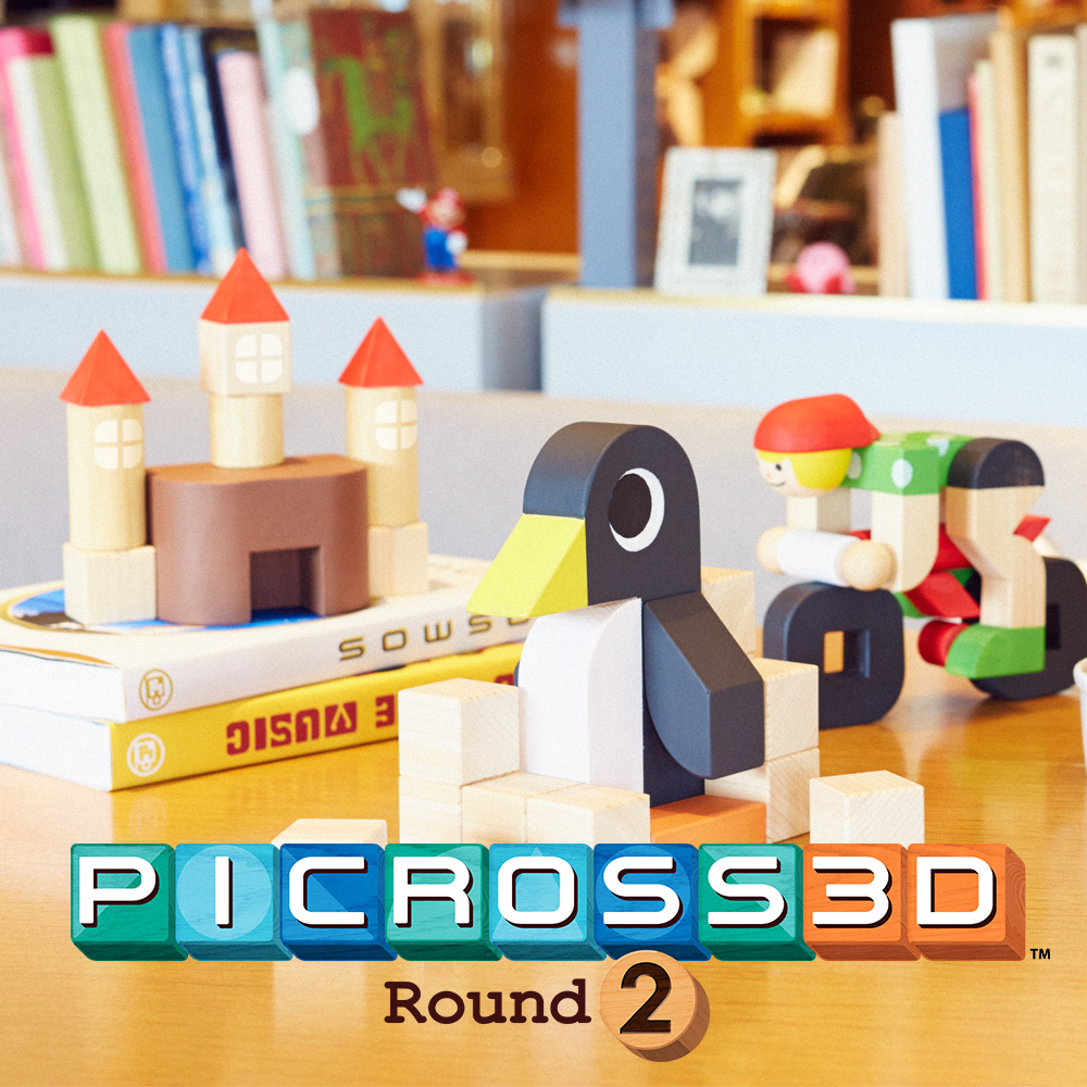 Settle into the addictive puzzle game Picross 3D: Round 2 – coming to Nintendo 3DS family systems on 2nd December 2016