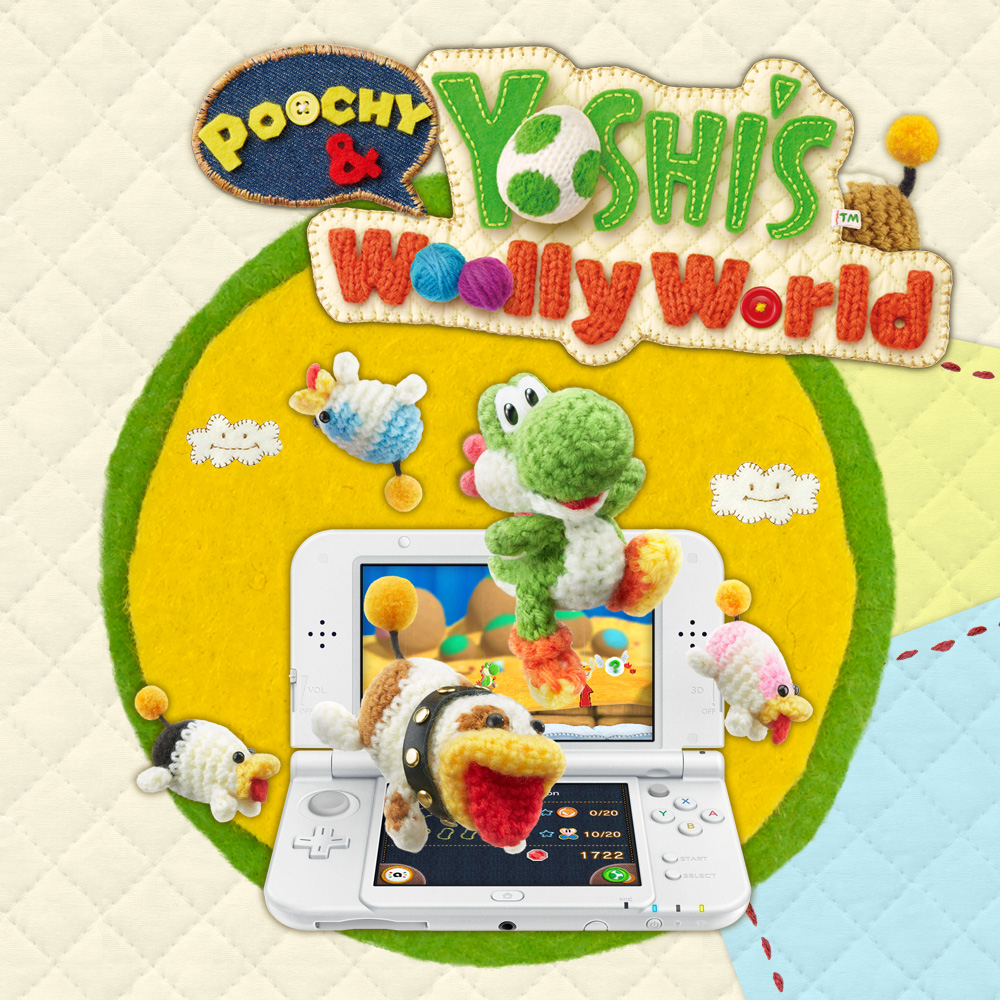 Descobre mais sobre Poochy & Yoshi's Woolly World no novo site oficial do jogo!