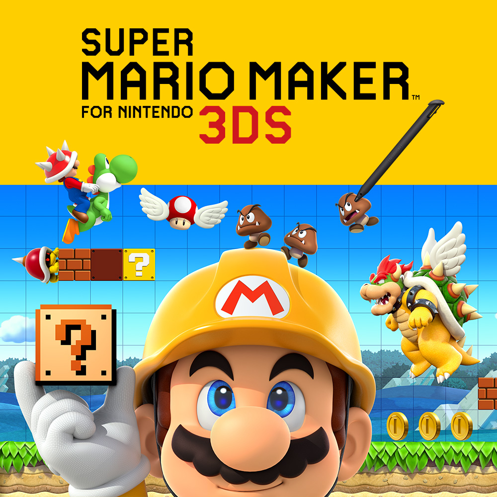 Play, create and share anytime, anywhere. Our new Super Mario Maker for Nintendo 3DS website is live!