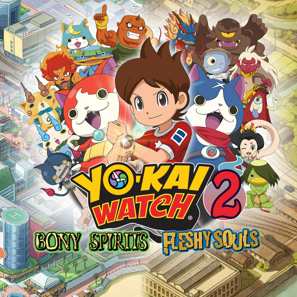 Jump into the world of YO-KAI WATCH® with the new YO-KAI WATCH 2 demo!