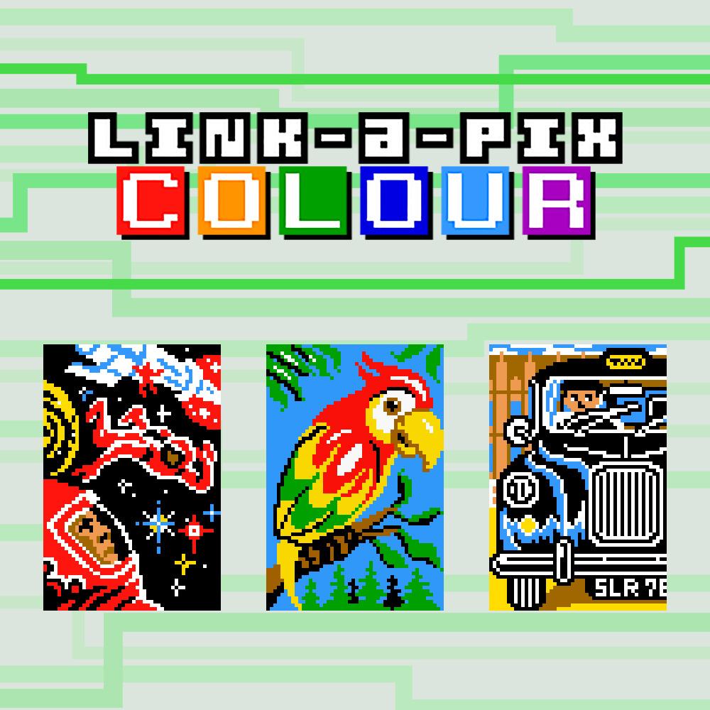 Link-a-Pix Colour   Nintendo 3DS download software   Games ...
