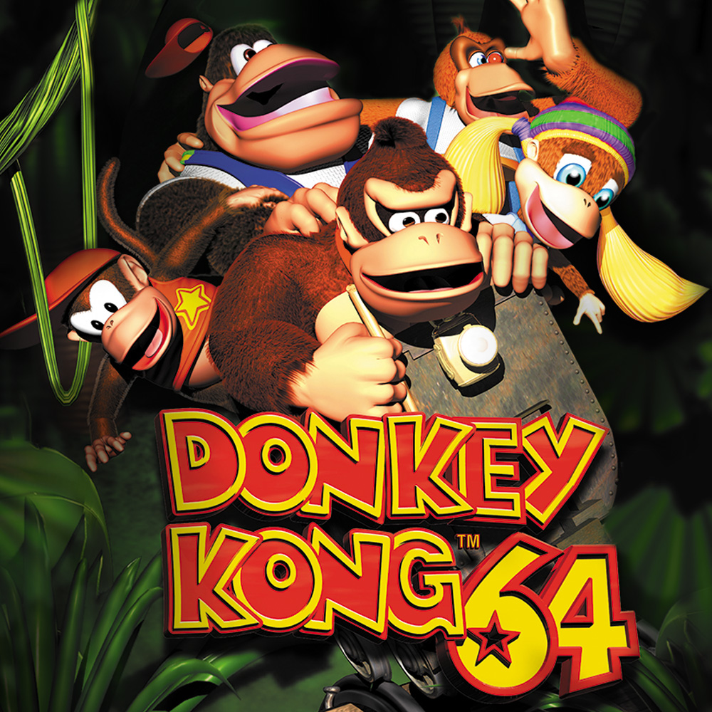 donkey kong 64 nintendo 64 games nintendo. Black Bedroom Furniture Sets. Home Design Ideas