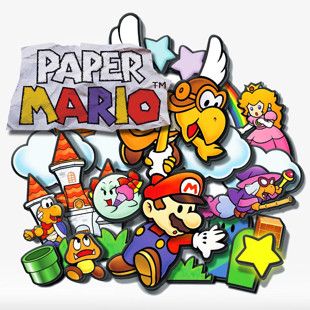 paper mario nintendo 64 games nintendo