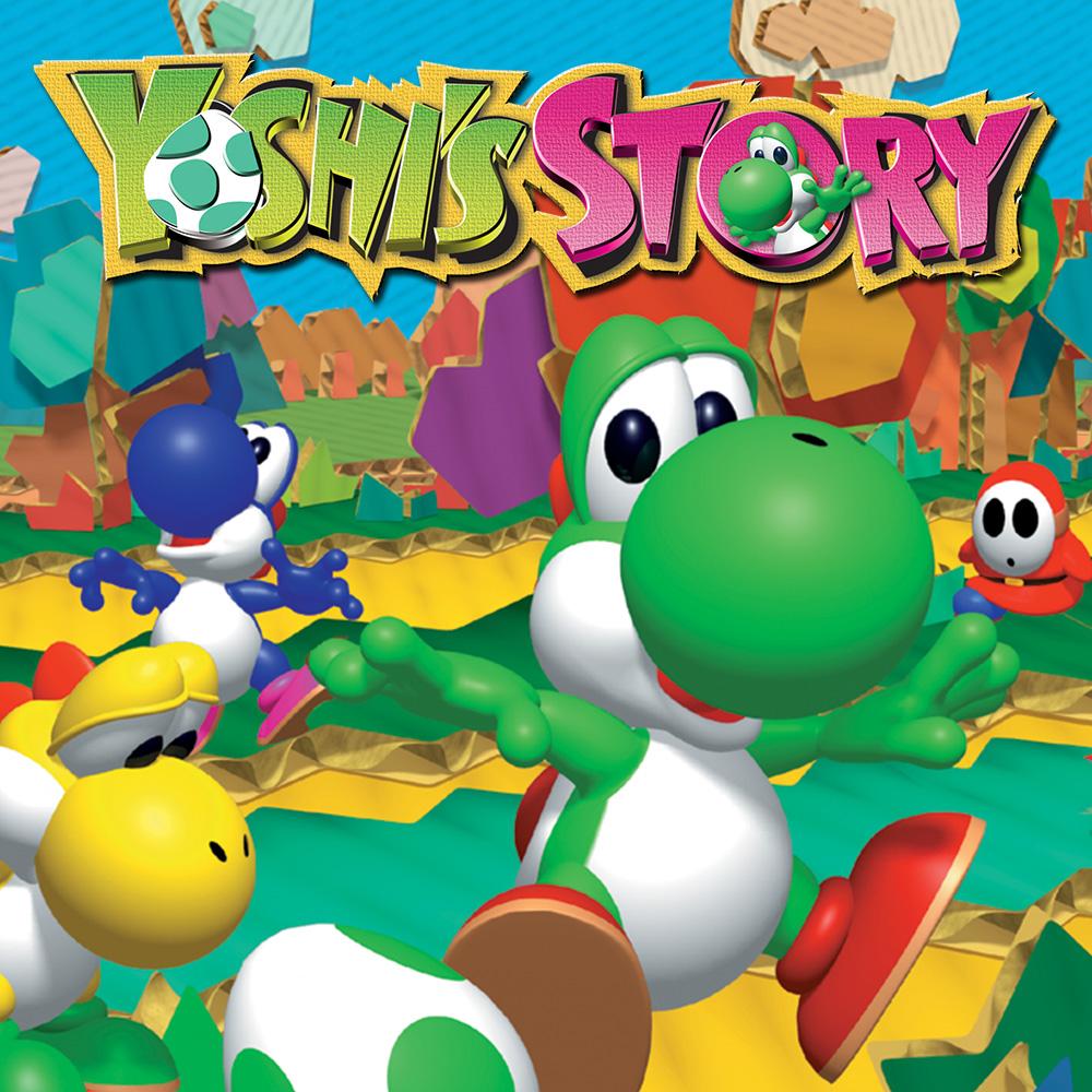 n64 yoshis story