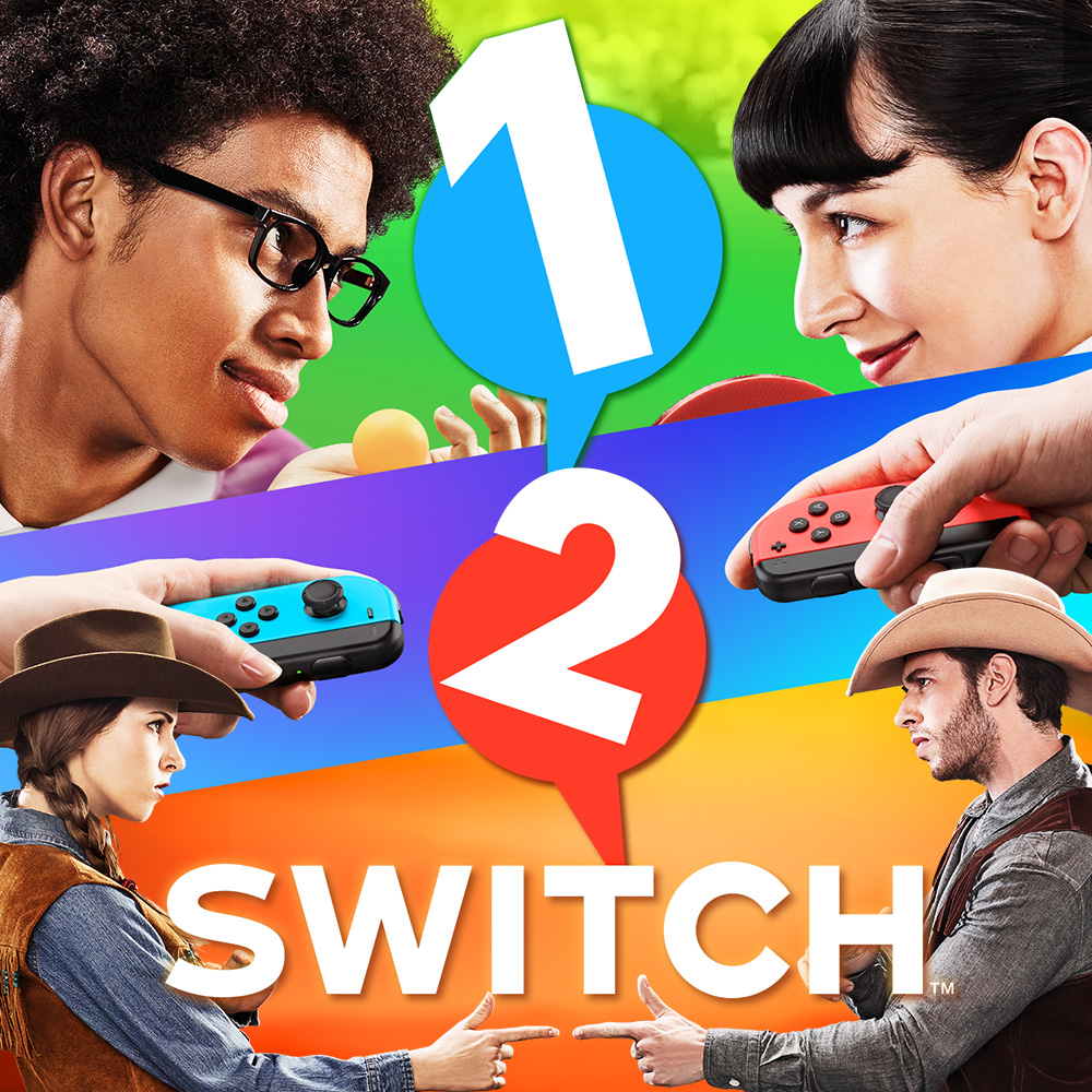 Let's have a look at some of the fun ways to face off in 1-2-Switch!