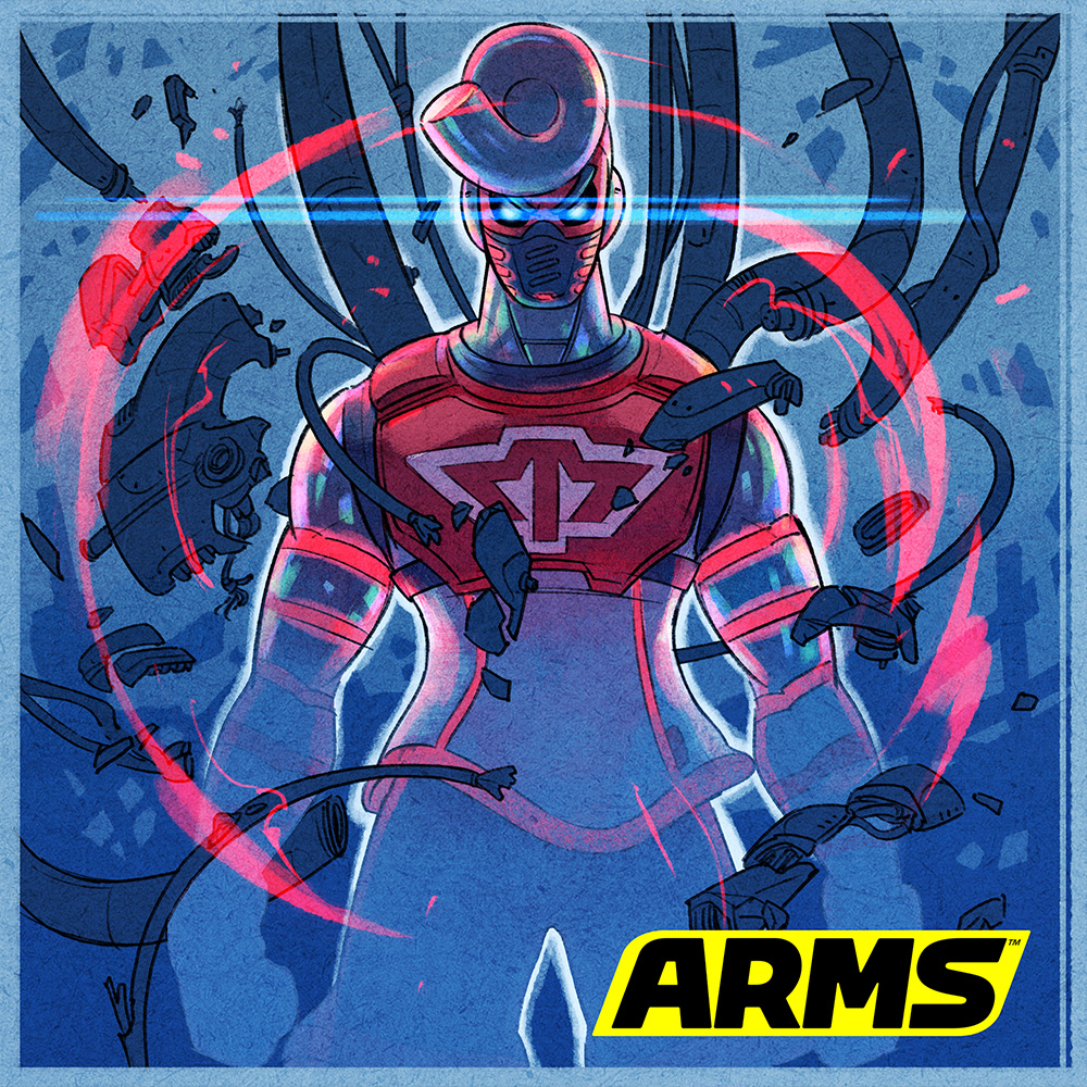 New fighter Springtron joins ARMS