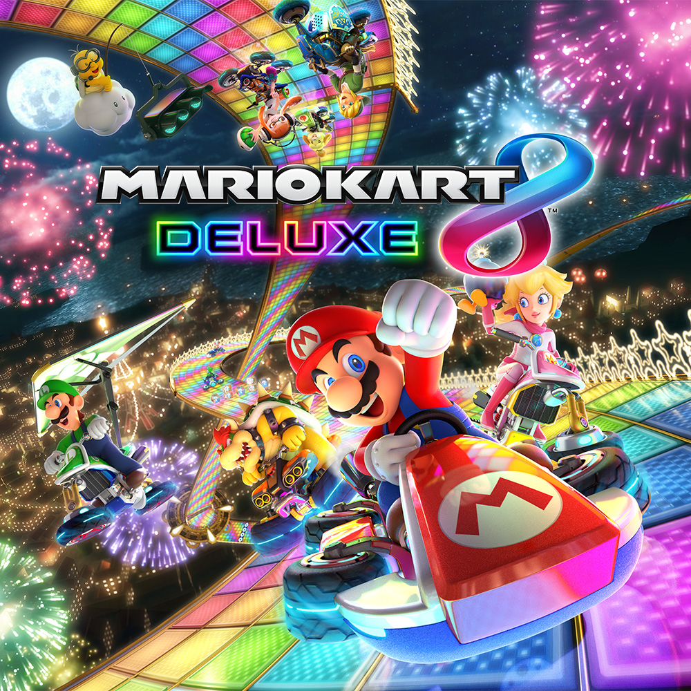 Race anytime, anywhere, with anyone when Mario Kart 8 Deluxe launches on Nintendo Switch on 28th April