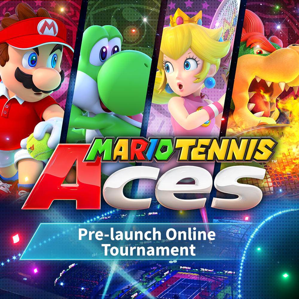 Serve up a storm with the Mario Tennis Aces Pre-launch Online Tournament from June 1st!