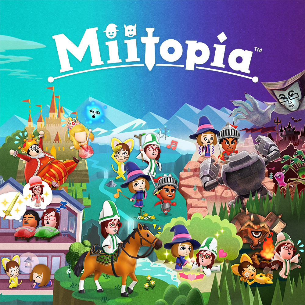 Discover how Mii characters can join your Miitopia adventure on Nintendo Switch