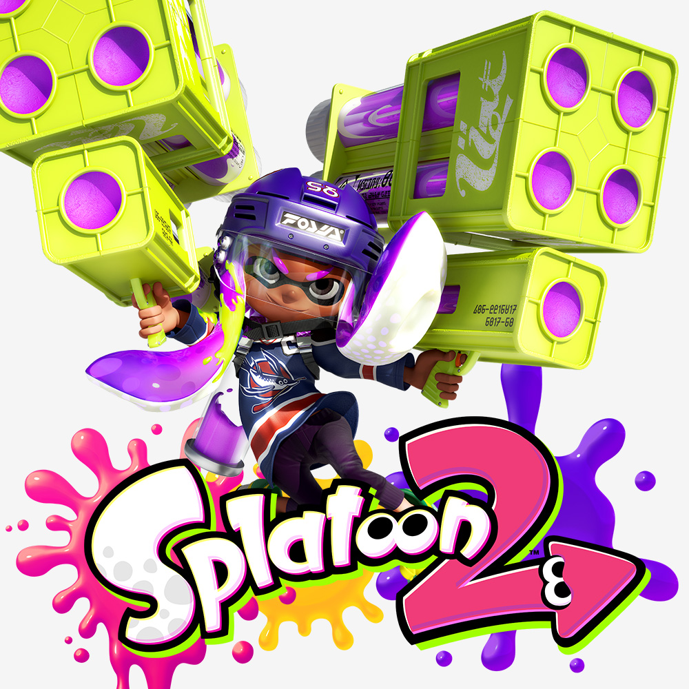 "Update vom Squid Research Lab: Bekannte Waffen in ""Splatoon 2"""
