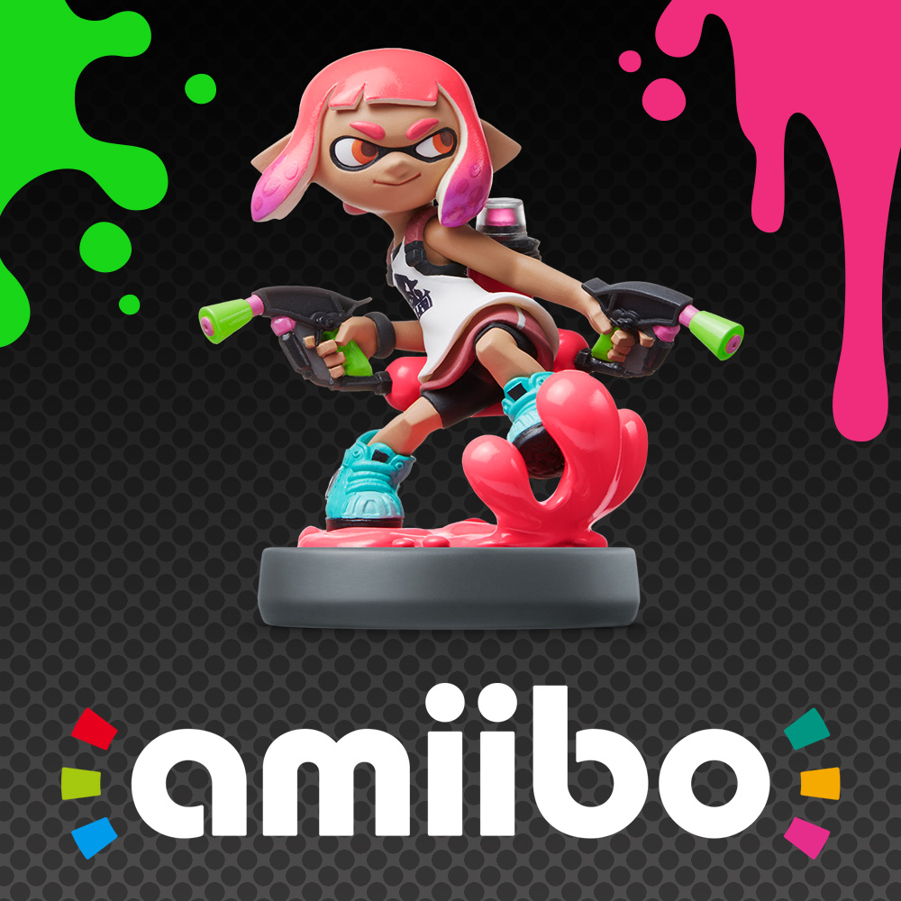 Update from the Squid Research Lab: How do amiibo work in Splatoon 2?
