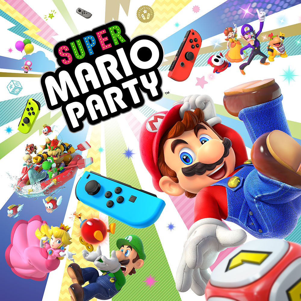 Super mario party nintendo switch games nintendo for Housse nintendo switch mario