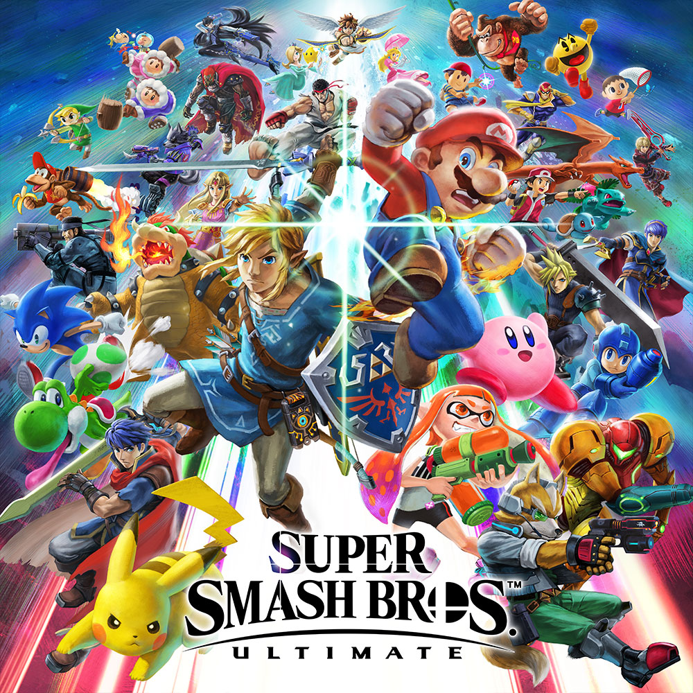 Sq Nswitch Supersmashbrosultimate 02 Super Smash Bros Ultimate Nintendo Switch Games
