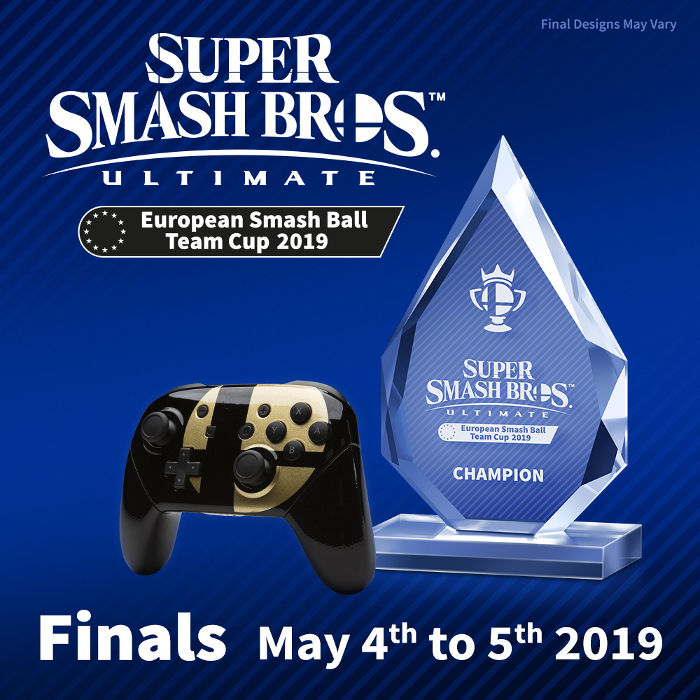 Germany defeat France in a thrilling final to become Super Smash Bros. Ultimate European Smash Ball Team Cup 2019 Champions