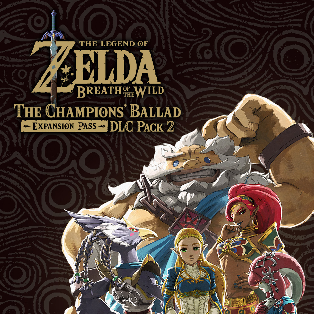 Watch a new short clip from The Legend of Zelda: Breath of the Wild DLC Pack 2 The Champions' Ballad