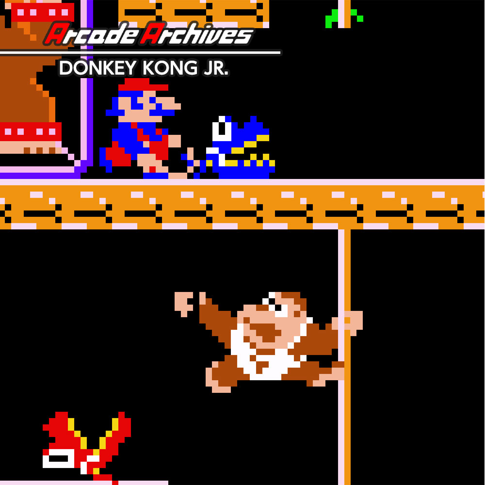 Arcade Archives DONKEY KONG JR.