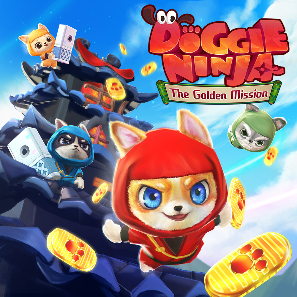 Resultado de imagem para Doggie Ninja The Golden Mission switch