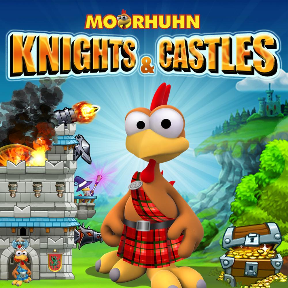 Resultado de imagem para Moorhuhn Knights & Castles