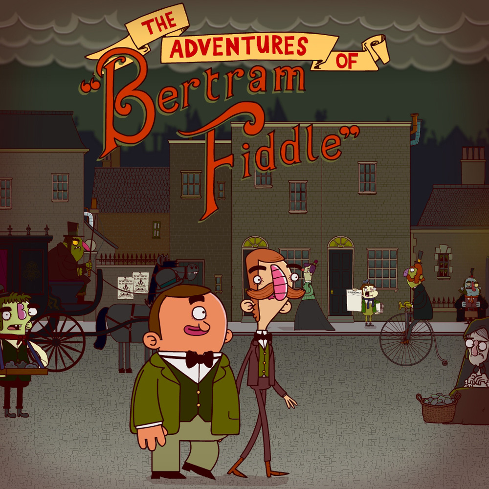The Adventures of Bertram Fiddle: Episode 1: A Dreadly Business