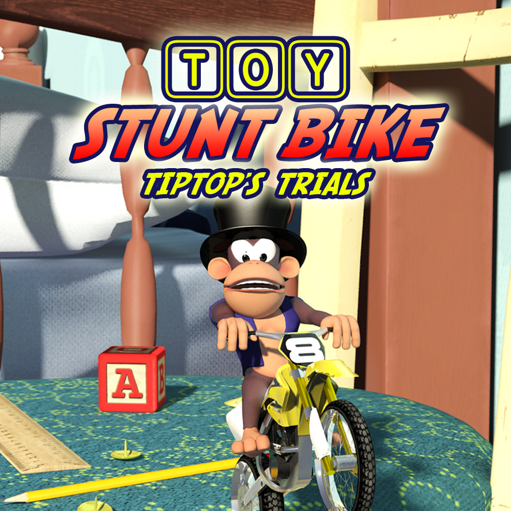 Toy Stunt Bike: Tiptop's Trials