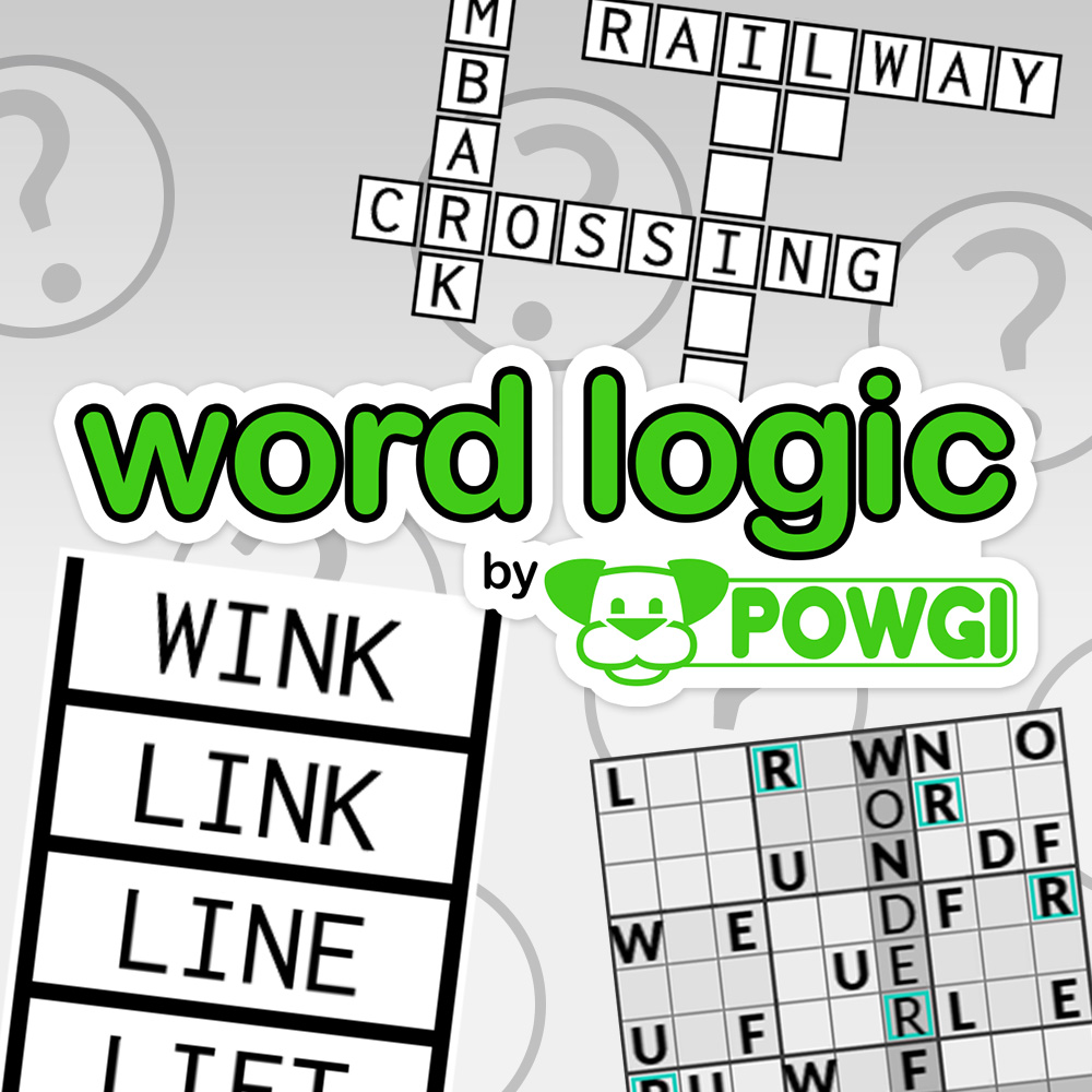 Word Logic By Powgi Wii U Download Software Games Nintendo Diagram Crossword Clue