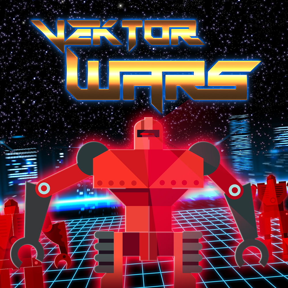 Wii U Downloadable Games : Vektor wars wii u download software games nintendo