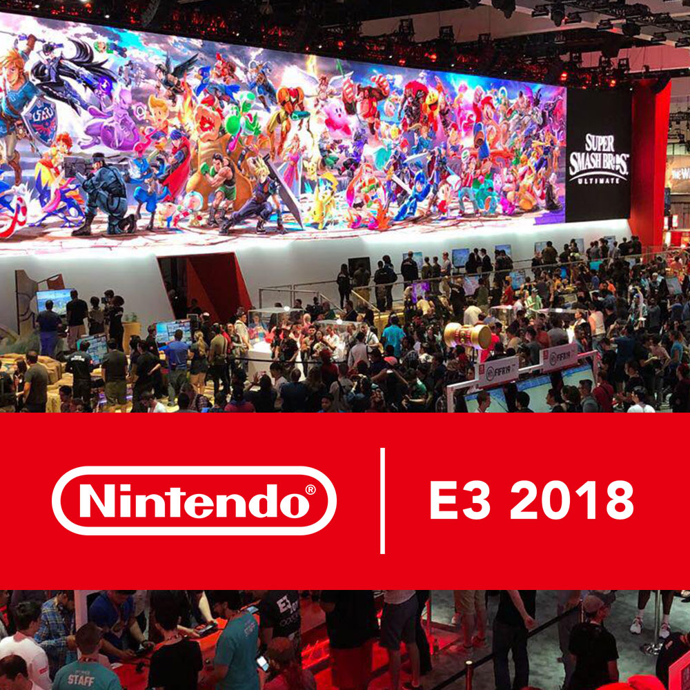 Nintendo knalt op E3 met line-up 2018 en details over Super Smash Bros. Ultimate