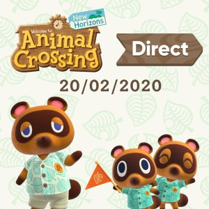 A new Animal Crossing: New Horizons Direct is airing on February 20th!