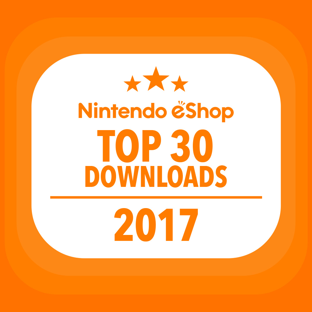 Take a look at the 30 most downloaded Nintendo eShop games on Nintendo Switch of 2017!