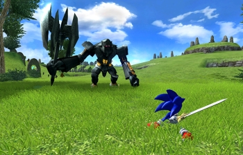 Sonic Y El Caballero Negro Wii Juegos Nintendo