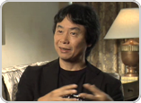 Watch exclusive interviews with Mario creator Shigeru Miyamoto