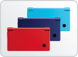 New colours for the Nintendo DSi