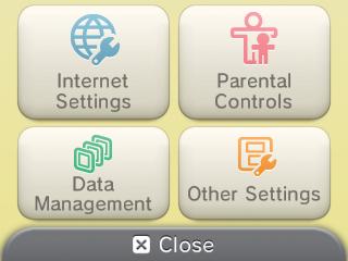 nintendo system settings electronic manual